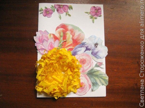 Пасхальная открытка своими руками