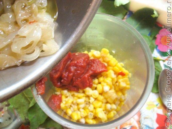 Рецепт паштета из кукурузы