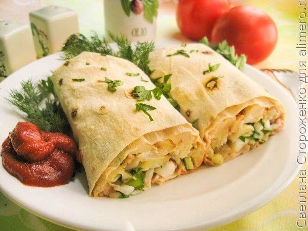 Шаурма без мяса рецепт, как приготовить в домашних условиях 70