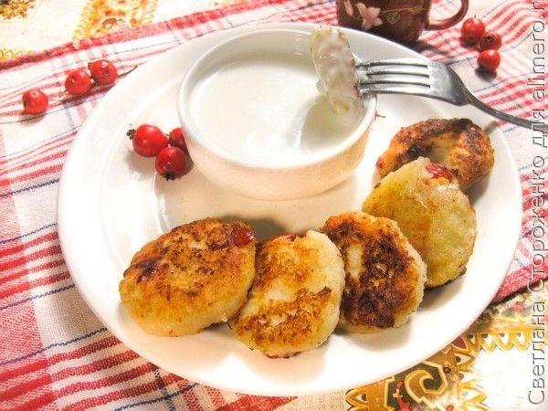Рецепт вкусных сырников с боярышником