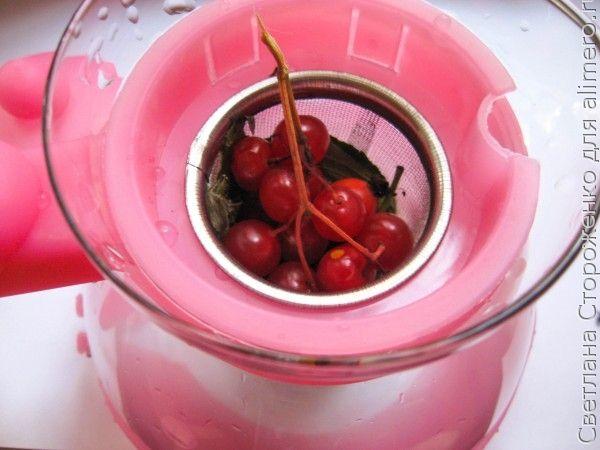 Чай из листьев и ягод