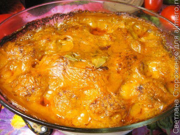 Рыбные тефтели из карпа в томатном соусе