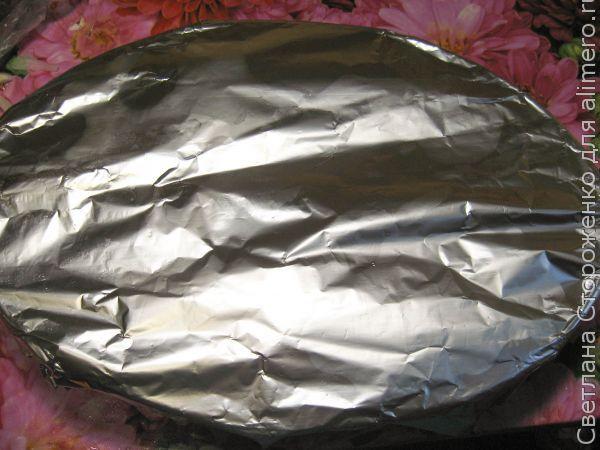 Запеченный карась на овощной подушке