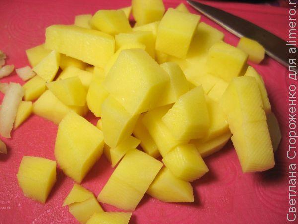 Суп-пюре из тыквы с кукурузой
