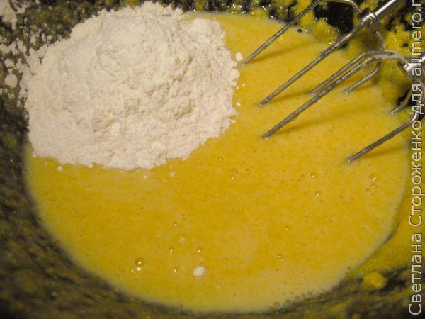 Вкусные маффины из кукурузной муки с черникой