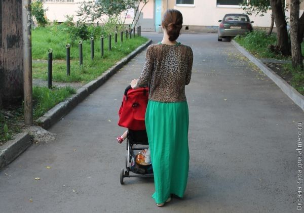 Отношение общества к женщине с ребенком