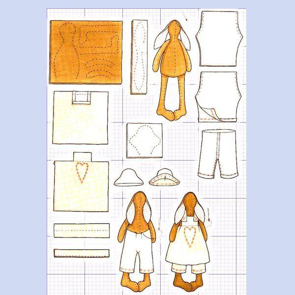 Из валяной ткани получаются очень оригинальные и милые поделки. Она больше всего подходит для изготовления мелких деталей: лапок, ушек, хвоста, хохолков и носиков.
