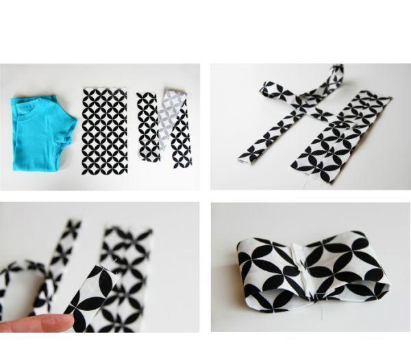 Для изготовления понадобится: футболка однотонного цвета, контрастная ткань для аппликации, ножницы, нитки/иголка, швейная машинка, булавки.