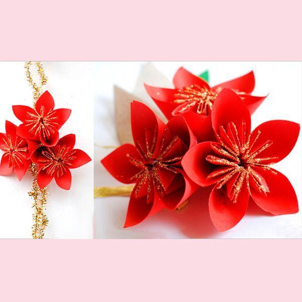 Чтобы сделать один оригами цветок, вам потребуются два листа бумаги формата А4. Лучше, если это будет двусторонняя цветная бумага.