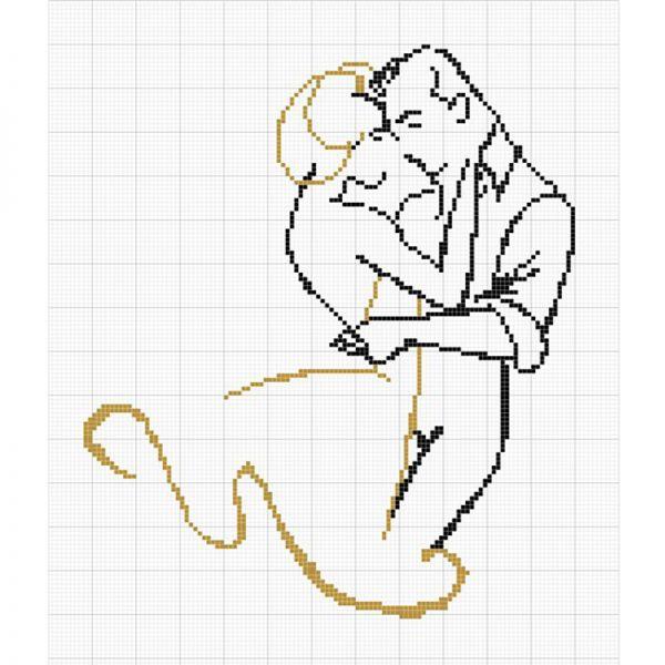 Если игла слишком велика для выбранной ткани, она будет расширять расстояние между нитями канвы. Если игла слишком тонкая - это приведет к быстрому истиранию нитей мулине.