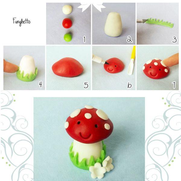 Для начала скатайте из мастики шарики, как показано на фото. Так вы сможете определиться с пропорциями.