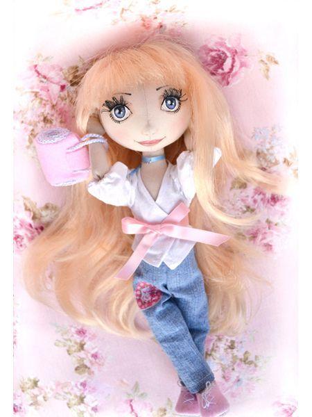 Текстильные куклы - 15 выкроек