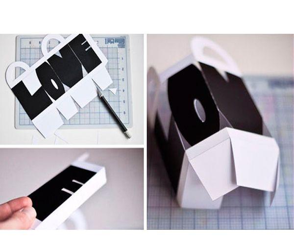 Положите внутрь ваш подарочек и завяжите ручки коробочки лентой. Коробочка готова!