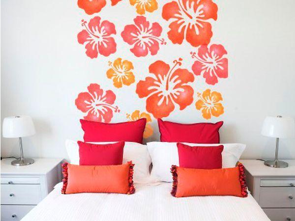 30 идей украшения стен в спальне
