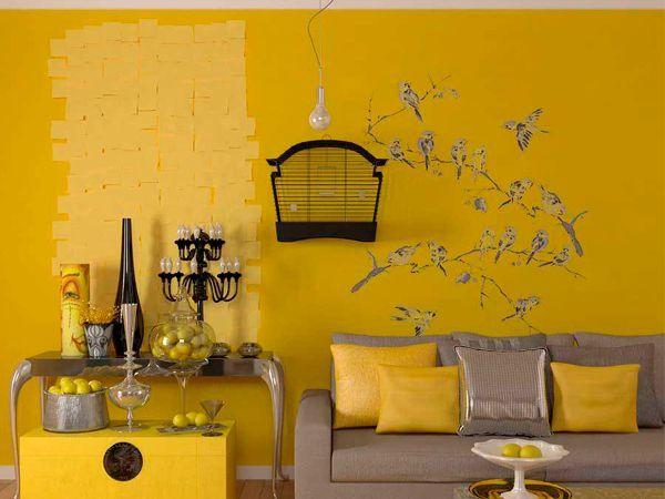 26 идей декора стен в гостиной