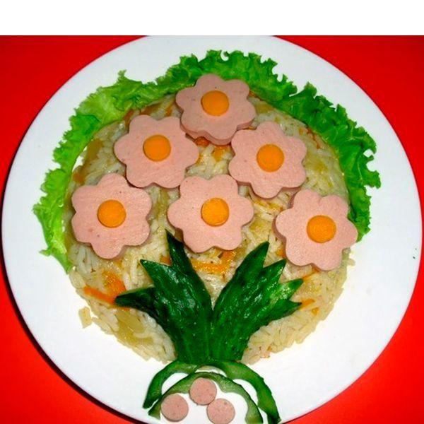 25 идей оформления блюд для детей