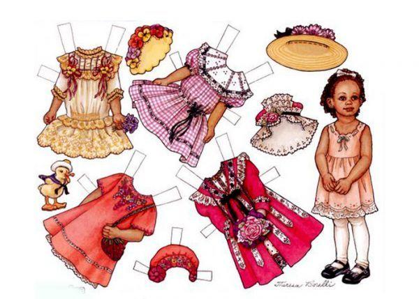 32 бумажные куклы