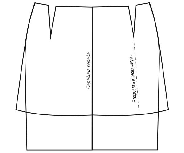 Сшить короткую юбку выкройка 581