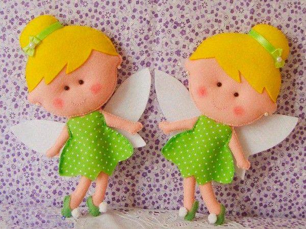 Как сделать куклу из фетра своими руками
