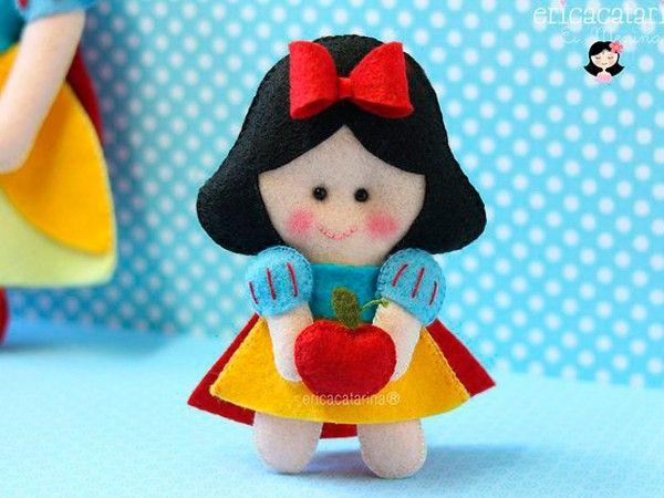 Куклы из фетра, выкройки.