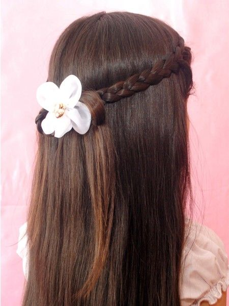 Прически с косами для девочек, мастер-классы.