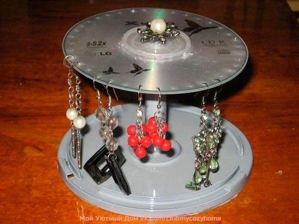 Поделки из дисков, идеи.