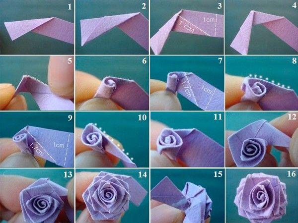 Цветы из бумаги, мастер-классы.