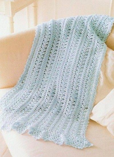 Схемы вязания женских шарфов крючком