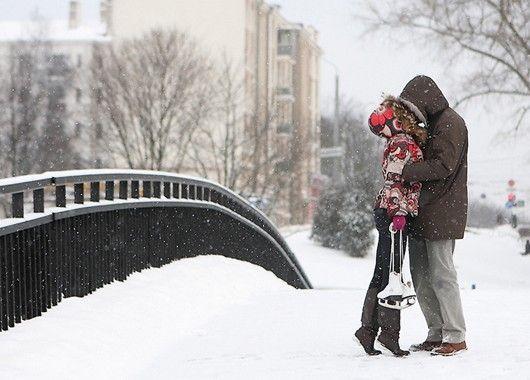 Романтические зимние картинки
