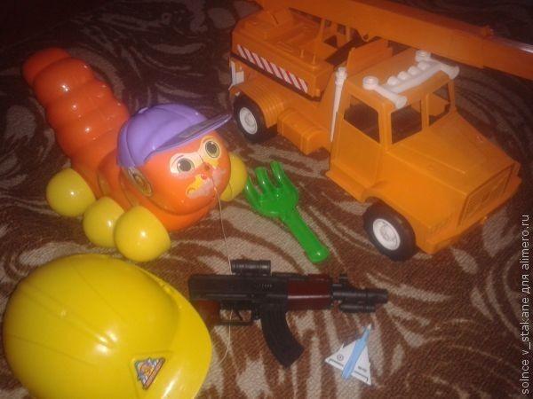 Мальчишеские игрушки в четыре года