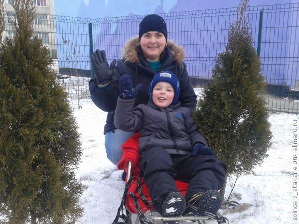 Детские зимние радости