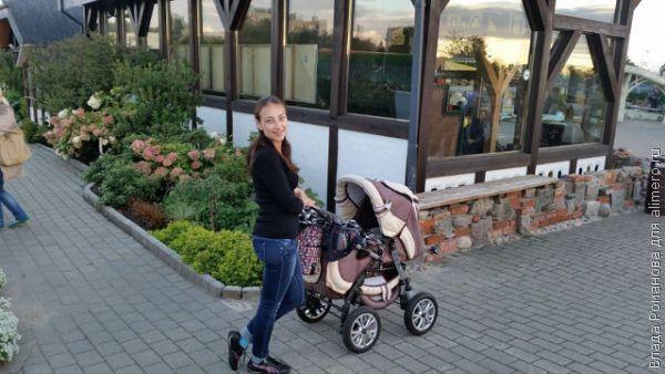 мамочка с коляской