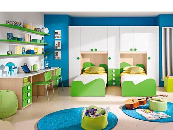 Если вам повезло воспитывать двойняшек разного пола, то стоит решить для себя: желаете ли вы четко дифференцировать зоны комнаты для мальчика и для девочки, или решите создать общий интерьер для обоих детей.