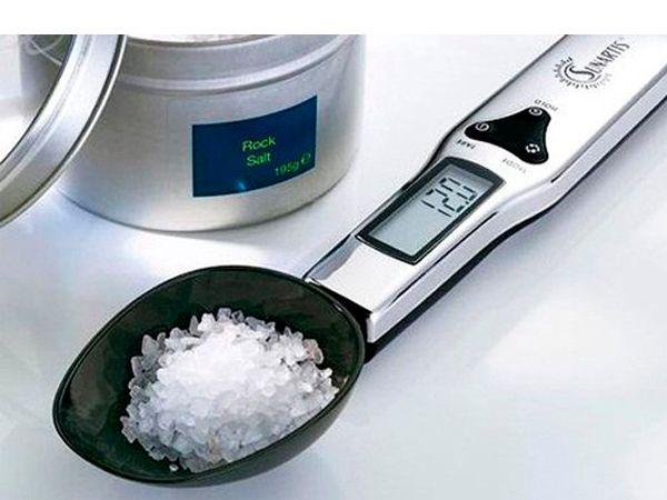 Кухонные весы, представляющие собой удобную мерную ложку, вдохновят на новые свершения в кулинарии.