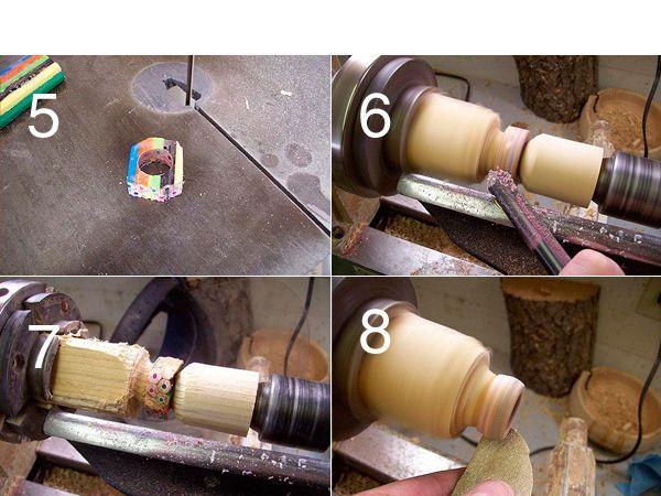 Нужно срезать все лишнее, перед тем, как обработать кольцо на токарном станке.