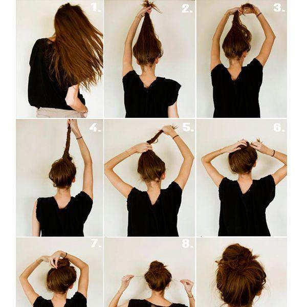 Легкие прически на новый год своими руками на средние волосы поэтапно