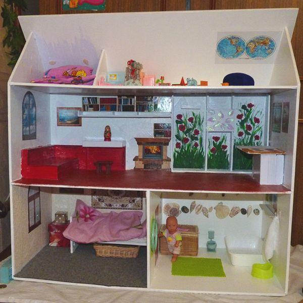 Какую мебель можно сделать для кукол своими руками
