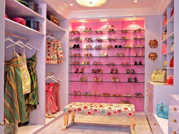 33 идеи оформления гардеробных комнат