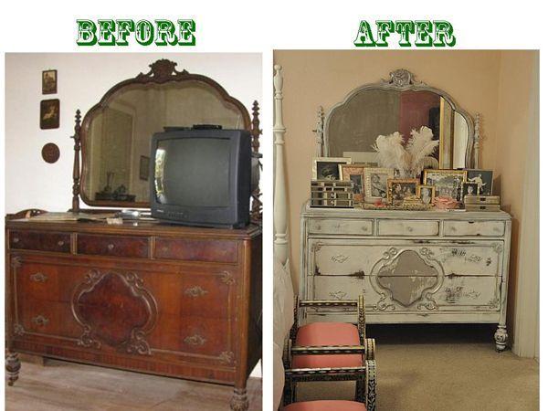 Мастер класс по старой мебели