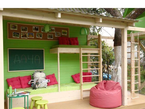 Детский уголок на даче — 25 идей