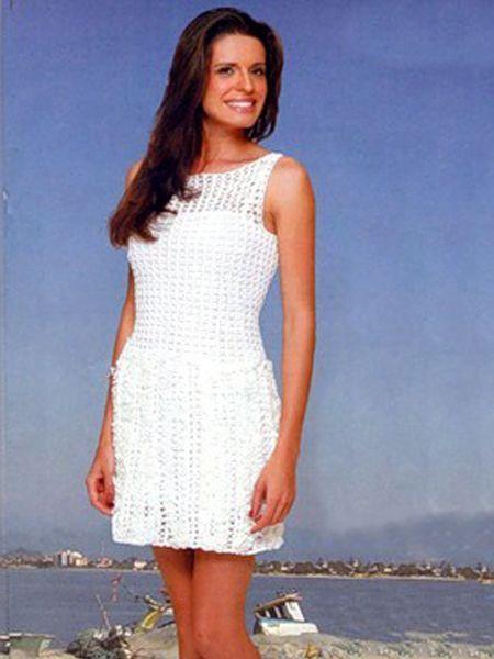 1 из 25. Летние вязаные платья