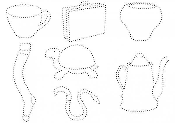 Рисунки по точкам