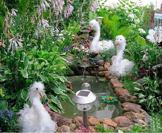 Фото идей для сада своими руками