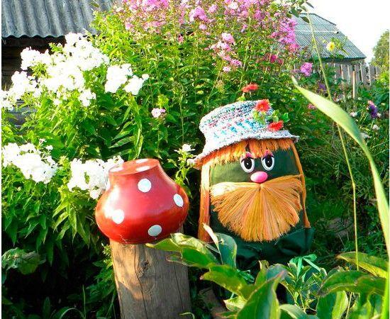 Разные поделки  для дома и сада