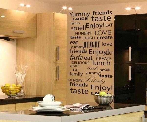 Оригинальные идеи декора кухни.