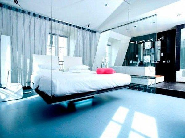 Идеи оригинального дизайна спальни.