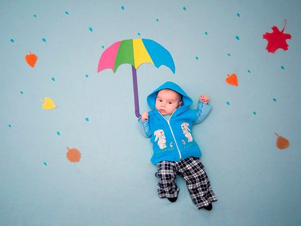 Идеи для фотосессии младенцев