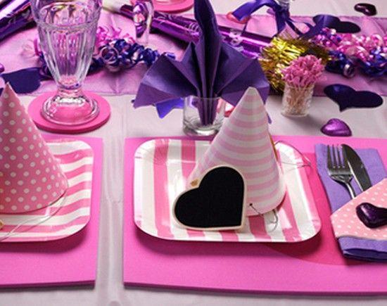 Идеи сервировки стола на детский праздник