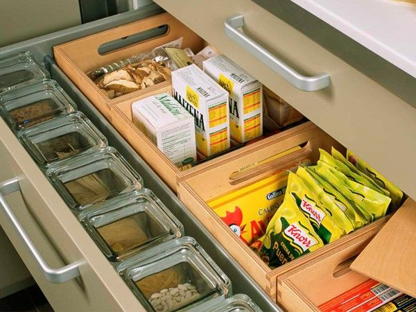 Идеи хранения вещей на кухне