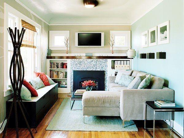 Дизайн маленькой гостиной, идеи.